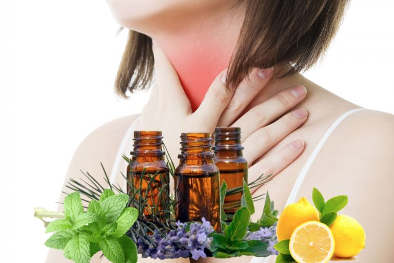 Best Essential Oils for Sore Throats